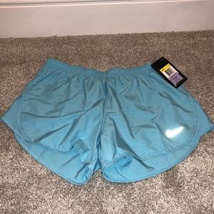 NWT Light Blue Nike Running Shorts Size Small